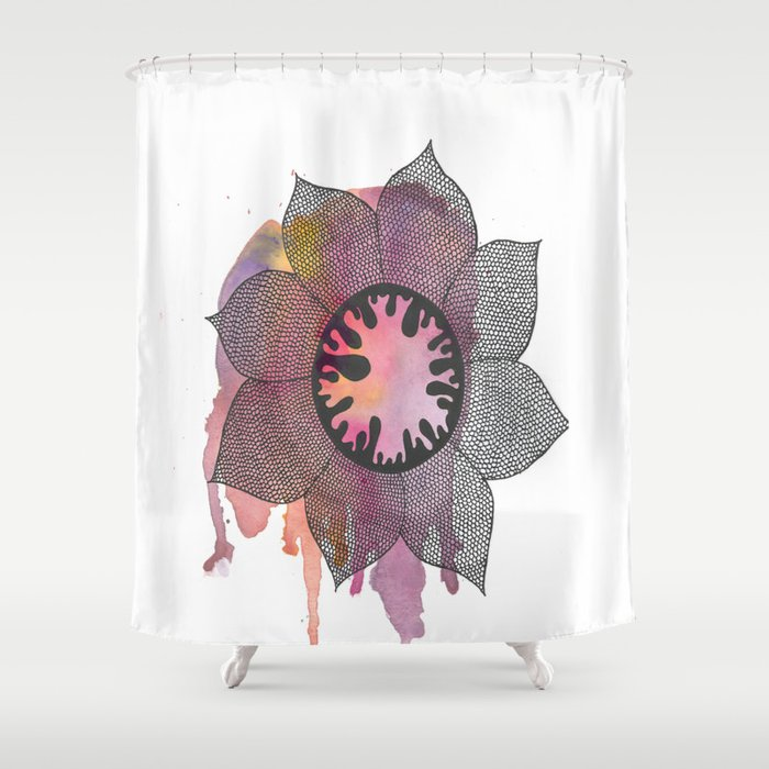 Spring Creature Shower Curtain
