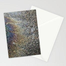 Rainbow Asphalt Stationery Cards