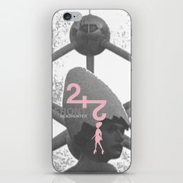 "Front 242 ""Headhunter"" iPhone Skin"