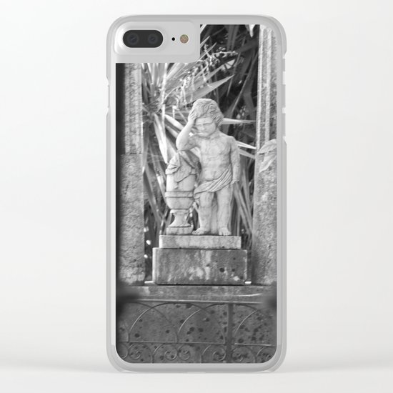 Statue Clear iPhone Case