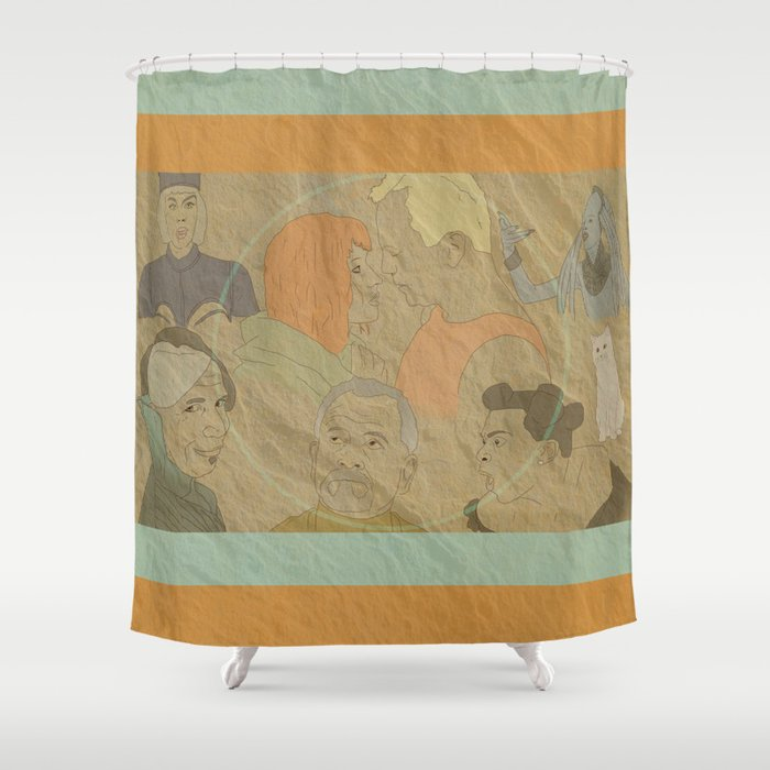 The Fifth Element Shower Curtain by bilustra   Society6