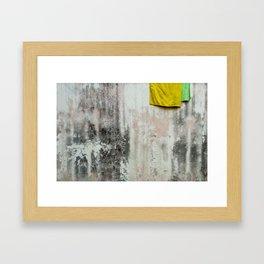 Towels Framed Art Print
