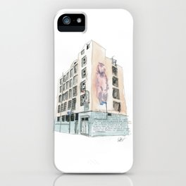 125 Manners Street iPhone Case