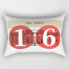Tea Party White House 2016 Rectangular Pillow