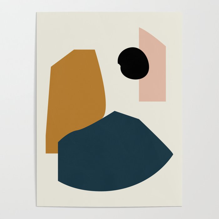 Shape study #1 - Lola Collection Poster