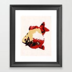 Gold Fish 1 Framed Art Print
