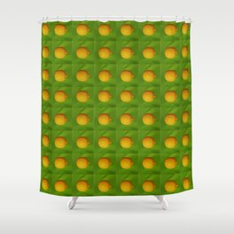 Lemon Lime All The Time Shower Curtain