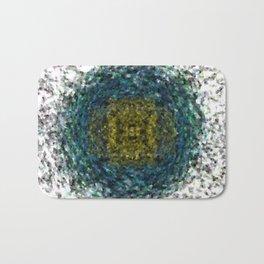 Geode Abstract 01 Bath Mat