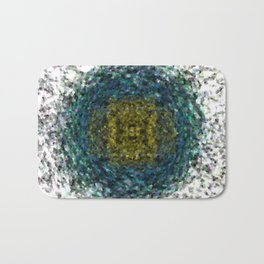 Geode Abstract 01 Bath Mat
