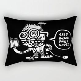 1337 H4xor Rectangular Pillow