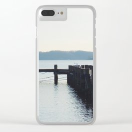 Pier and river | Severn River, MD Clear iPhone Case