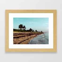 hollywood, florida Framed Art Print