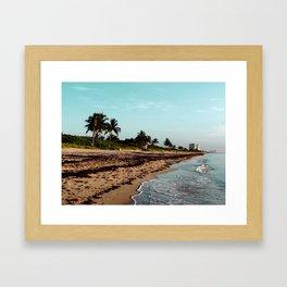 hollywood, florida Framed Art Print