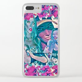 A Taste of Kate (Pink Vers.) Clear iPhone Case