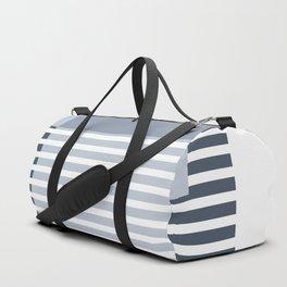 Marfa Abstract Geometric Print in Blue Duffle Bag