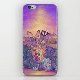 In the mushroom cove iPhone Skin