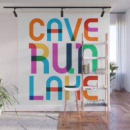 Cave Run Lake Color Pop Art Wall Mural