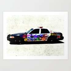 Above the Law Art Print