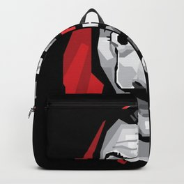 Dali Mask Money Heist Backpack