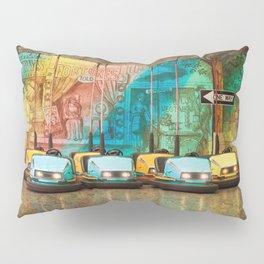 Bumper Cars Pillow Sham
