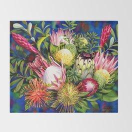 Protea Bounty Throw Blanket