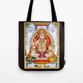 Hindu Hanuman Monkey God 5 Tote Bag
