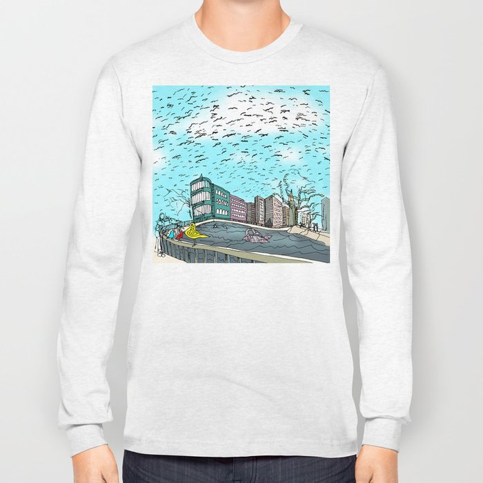 Love in the Afternoon Long Sleeve T-shirt