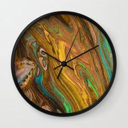 Abstract Fly 2 Wall Clock