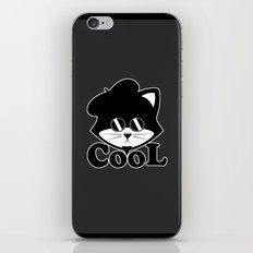 Cool cats iPhone & iPod Skin