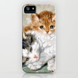 Sleeping Kitten - Digital Remastered Edition iPhone Case
