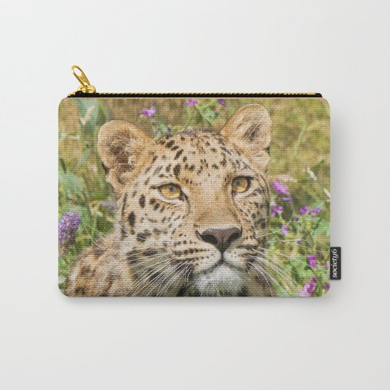 LEOPARD LOVE Carry-All Pouch