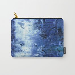 Saltwater Silk Blue Carry-All Pouch