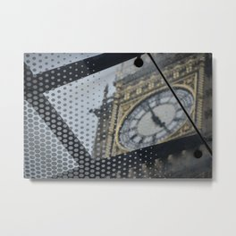 Different View of Ben Clock Tower Metal Print