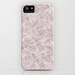 Ink Weaves: Morganite II iPhone Case