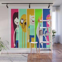 Famous Cartoon Characters No. 5-9 Wall Mural