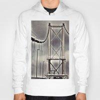 bridge Hoodies featuring Bridge by itsthezoe