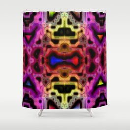 Symmetry II Shower Curtain