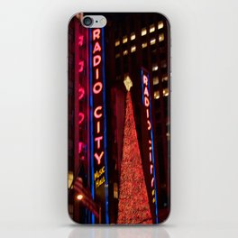 Christmas at Radio City iPhone Skin