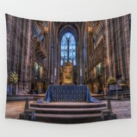 faith Wall Tapestries featuring Complete Faith by Ian Mitchell