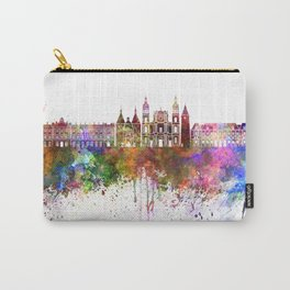Nancy skyline in watercolor background Carry-All Pouch