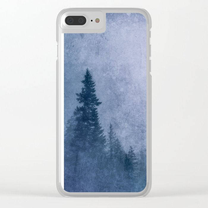 Into the Forest Clear iPhone Case