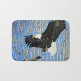 Bald Eagle-3 Bath Mat