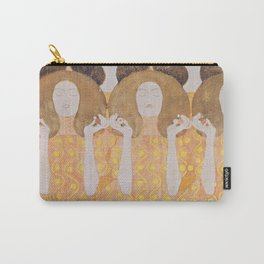 Gustav Klimt - Choir of Angels (Chor Der Paradiesengel) Carry-All Pouch