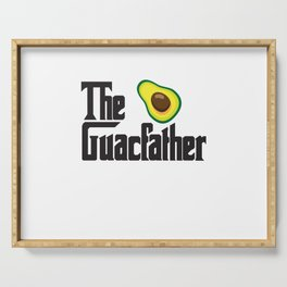 The Guacfather Serving Tray