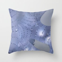 Grey-Blue light Throw Pillow
