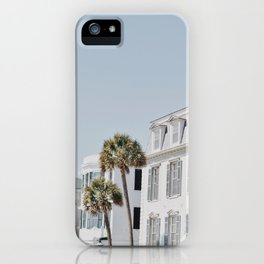 White Palms iPhone Case