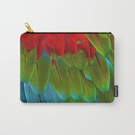 Catalina Macaw Feathers Carry-All Pouch