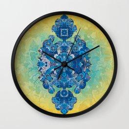 Batik 01 Wall Clock
