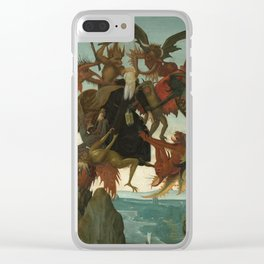 Michelangelo Buonarroti / The Torment of Saint Anthony / Clear iPhone Case