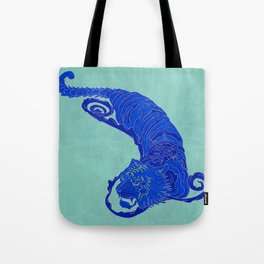Crouching Tiger Hidden Dragon Tote Bag